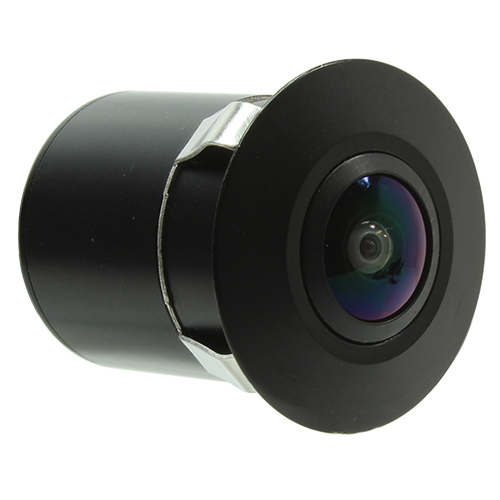 250-8173 programmable camera with flush-mount design for forward, side, or rear-view video