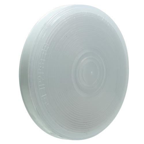 "VSM4063W 4-inch Sealed 4"" Round Utility Lamp with White Lens"