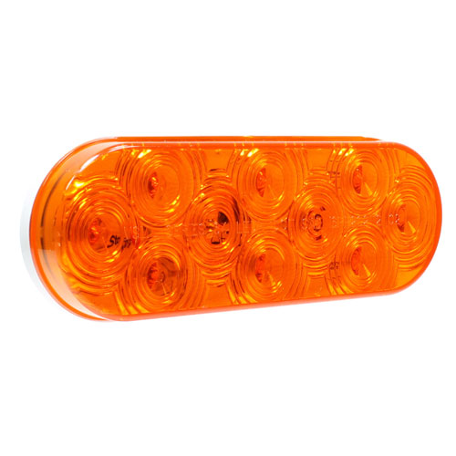 VSM6464A 4-inch 10-diode amber auxiliary lamp
