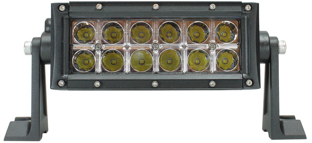 VSM695 60-watt LED light bar with complete mounting hardware and wire harness
